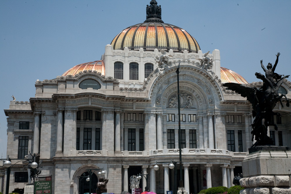 The great art and art museums of mexico city globalphile for Sanborns bellas artes