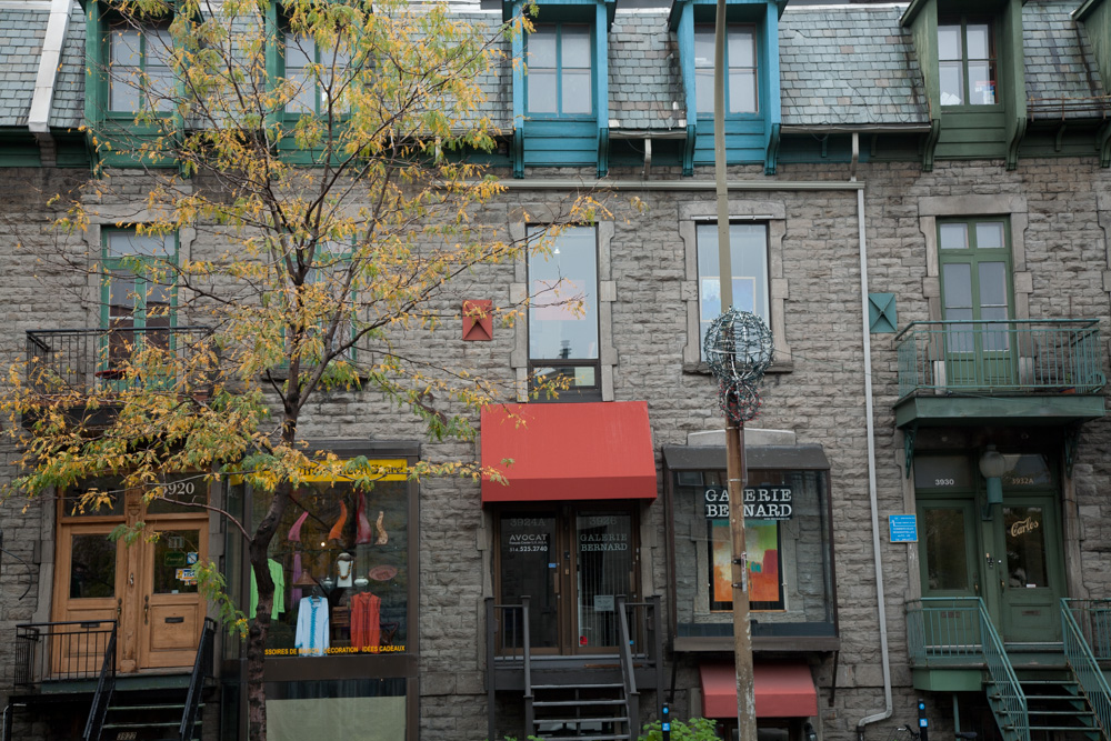 The plateau mont royal montreal globalphile for A le salon duluth mn