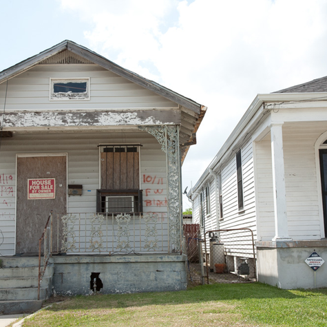 Lower Ninth Ward After Hurricane Katrina
