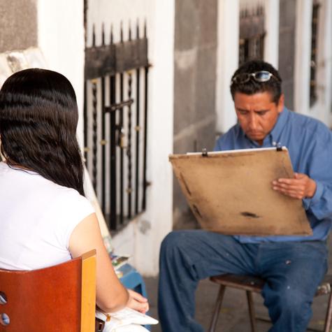 The Faces of Puebla Mexico