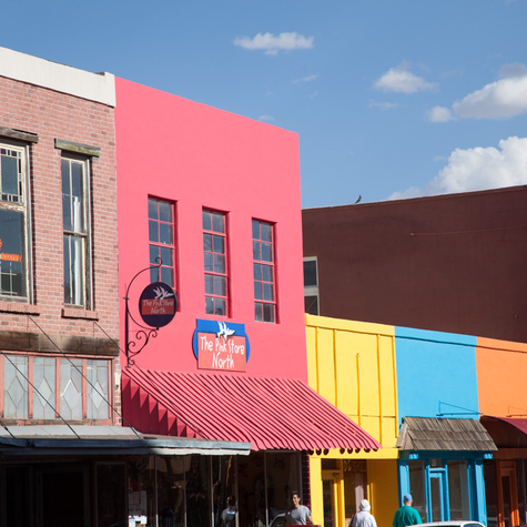 Colorful Silver City NM