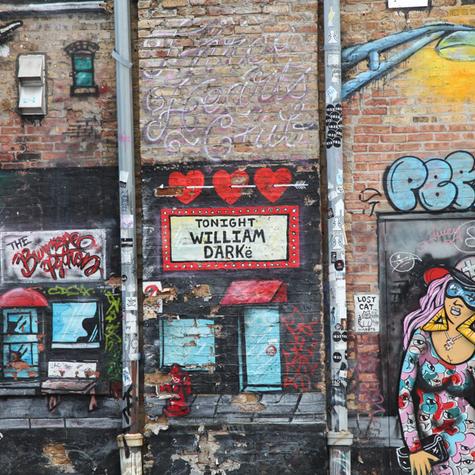 Street Art In Logan Square