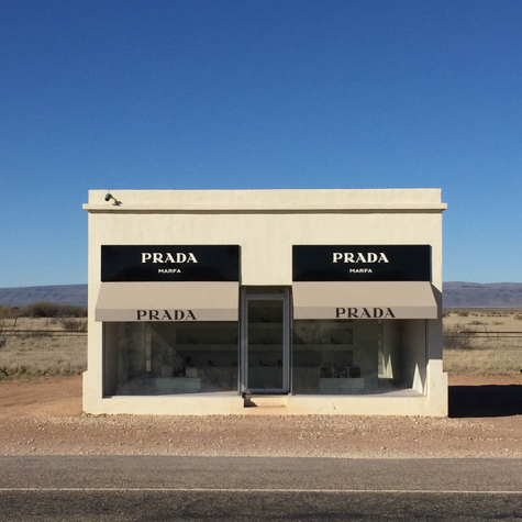 Art in Marfa, Texas