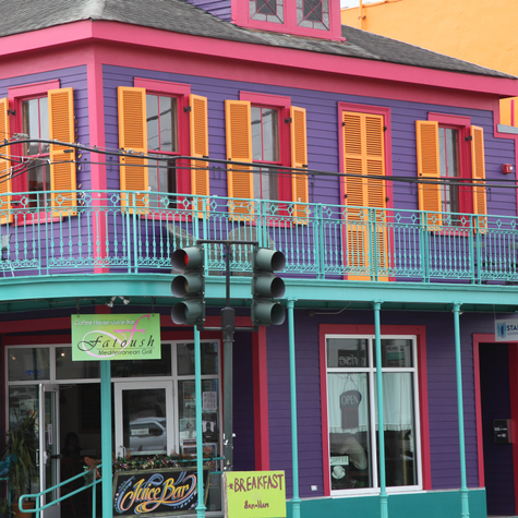 Exploring Colorful Faubourg Marigny